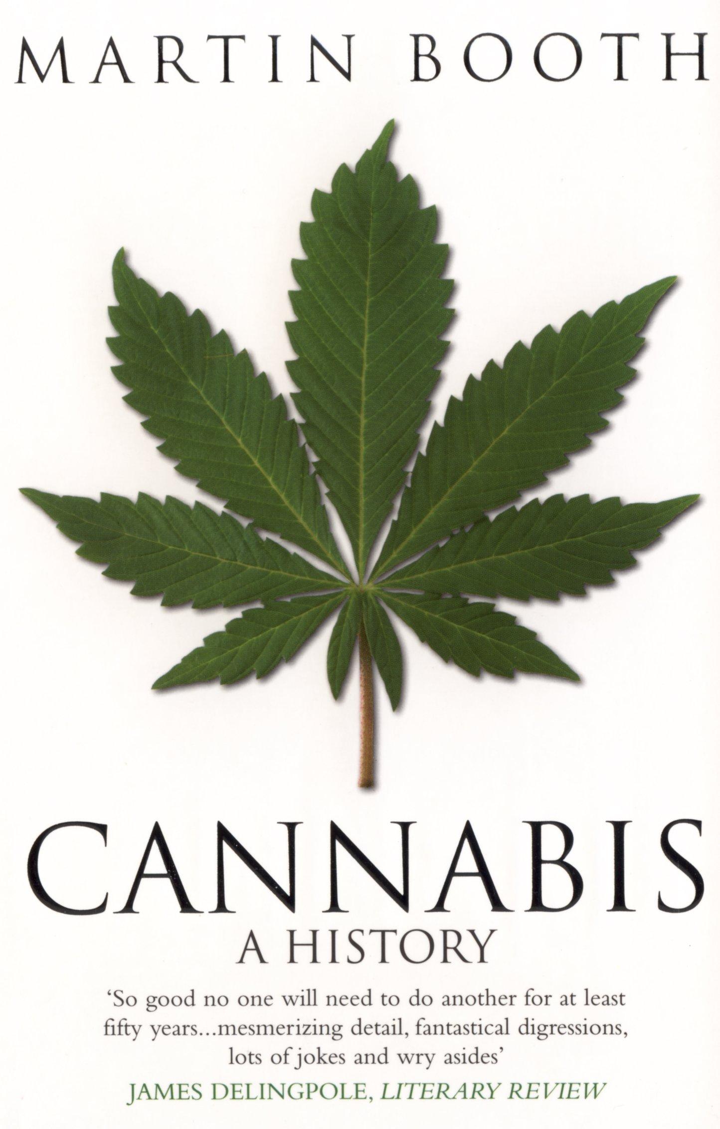 amazon cannabis a history martin booth 洋書
