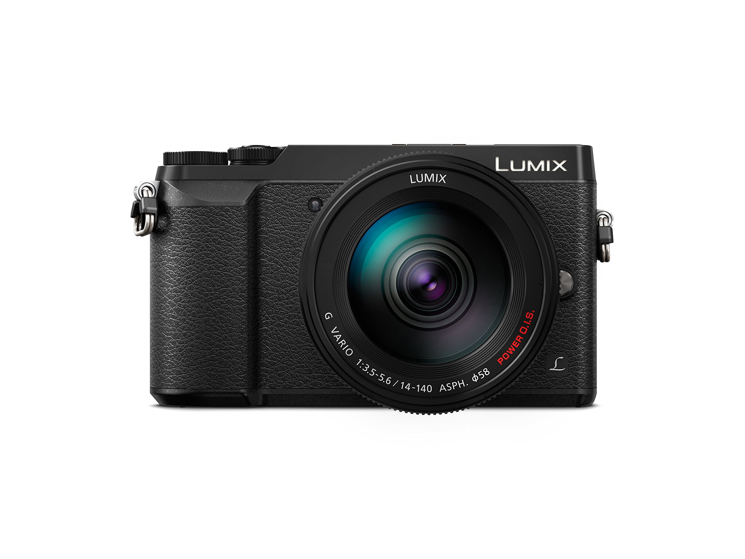 Panasonic Lumix DMC-GX80HEGK Kit Fotocamera Mirrorless GX80 e Obiettivo 14-140mm, 16MP, Post Focus, 4K Photo & 4K Video, Nero product image
