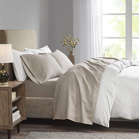 "Madison Home Collection Micro Fiber Queen Pillowcases 20/"" x 30/"""