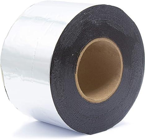Bitume Ruban Couleur Aluminium Plomb Cuivre Reparation 50 75 100 150 200 225 300 600 Mm X 10 Metres Amazon Fr Bricolage