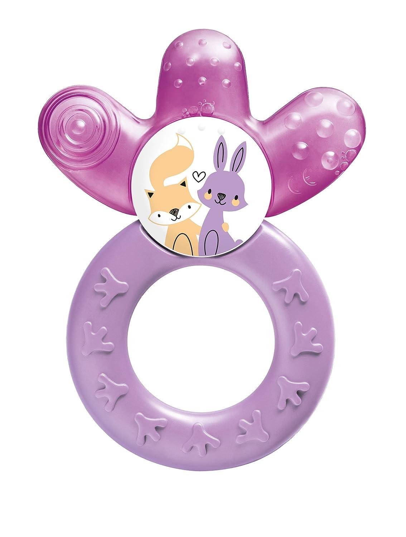 MAM 801222 - Cooler, Beißring, für Mädchen, farblich sortiert - BPA frei Beißring für Mädchen MAM Babyartikel 66801222