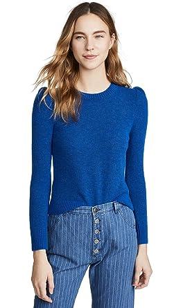 0d0e2cc2c42b6e Amazon.com: M.i.h Jeans Women's Tessa Sweater, Blue, Large: Clothing
