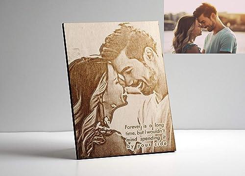 Best dad gift Motivation Custom gift Fridge magnet Wooden Gift for husband Hand burned Gift for dad Gift for wife