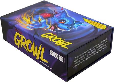 Growl: un Nuevo Tipo de Juego de Hombre Lobo.: Amazon.es: Juguetes y juegos