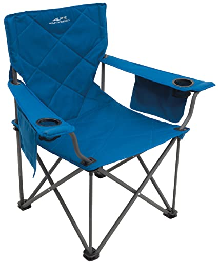 ALPS Mountaineering King Kong Chair Blue  sc 1 st  Amazon.com & Amazon.com : ALPS Mountaineering King Kong Chair Blue : Sports ...