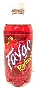 Faygo Redpop soda, 20-oz. plastic bottle