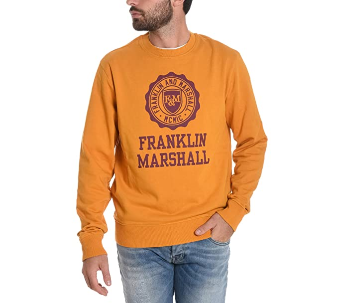 FRANKLIN & MARSHALL - Sudadera - para hombre naranja 50