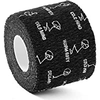 WARM BODY COLD MIND Premium Lifting Thumb Tape for Weightlifting, Powerlifting & Strength Deadlift Training - Hook Grip…