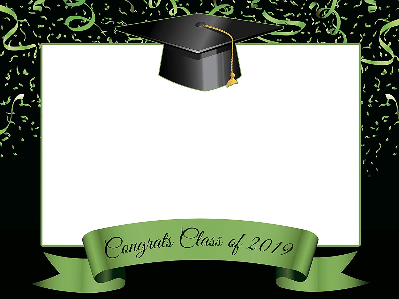 Amazoncom Custom Home Decor Graduation Photo Booth Frame Prop