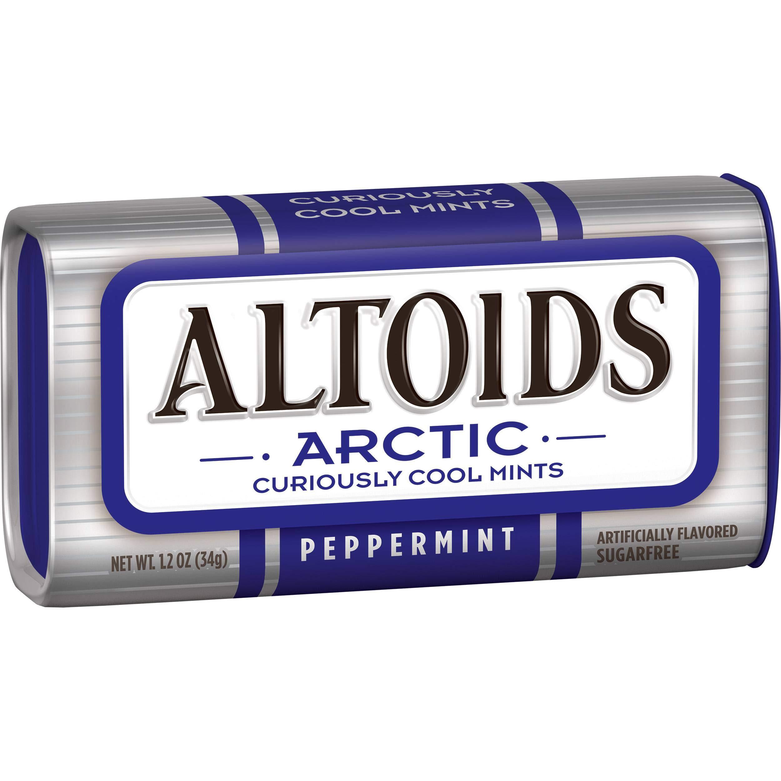 Altoids Arctic Wintergreen Mints, 1.2 Ounce -- 96 per case.