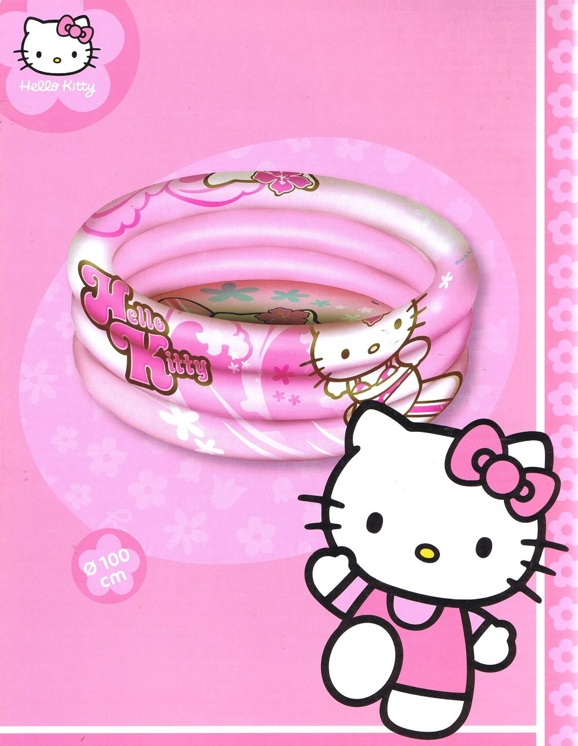 Piscina hinchable Hello Kitty (1372): Amazon.es: Bebé