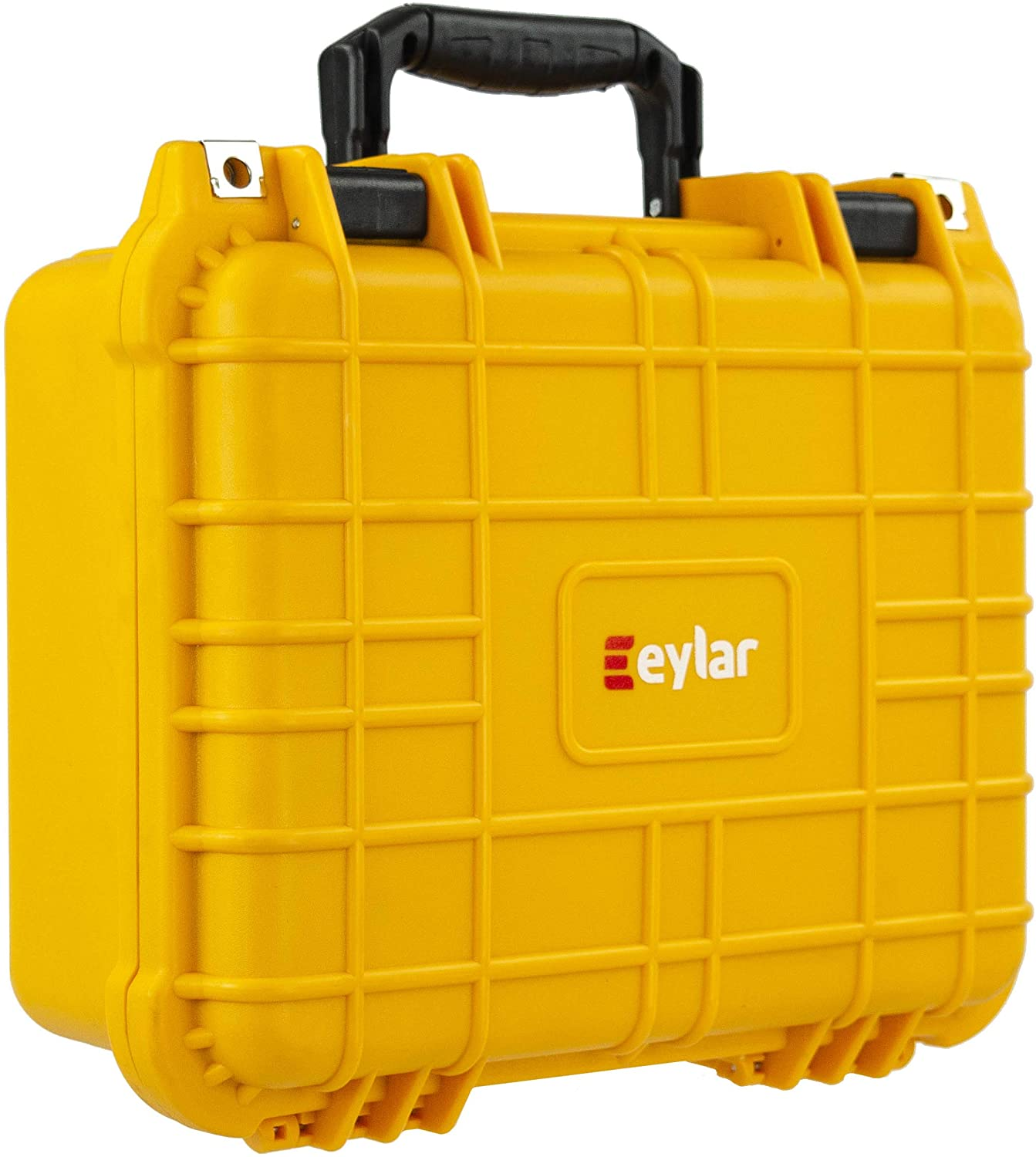 Eylar Protective Hard Case Water & Shock Proof w/Foam TSA Approved 13.37 inch 11.62 inch 6 inch Yellow