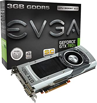 Amazon.com: EVGA GeForce GTX 780 Ti Superclocked, 3 GB, 3072 ...