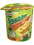 Knorr Snack Bar Kartoffelpüree mit Röstzwiebeln & Croutons, 8-er Pack (8 x 53 g)