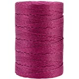 Iris 18-489 Nylon Crochet Thread, 197-Yard, Fuchsia
