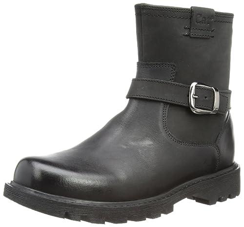 0f9f622f719 CAT Footwear Women s Everyday Biker Black Chukka Boots P306524 3 UK