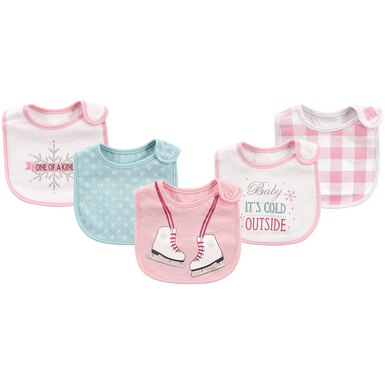 Little Treasure Unisex Baby Cotton Bibs