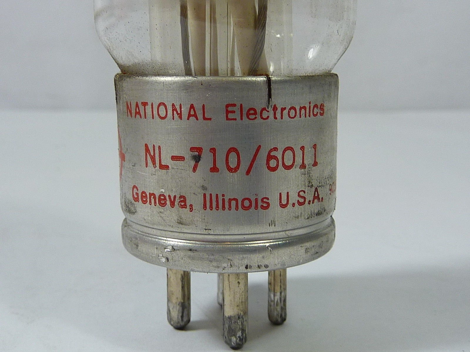 NATIONAL NL-710/6011 TUBE THYRATRON *NEW IN A BOX*