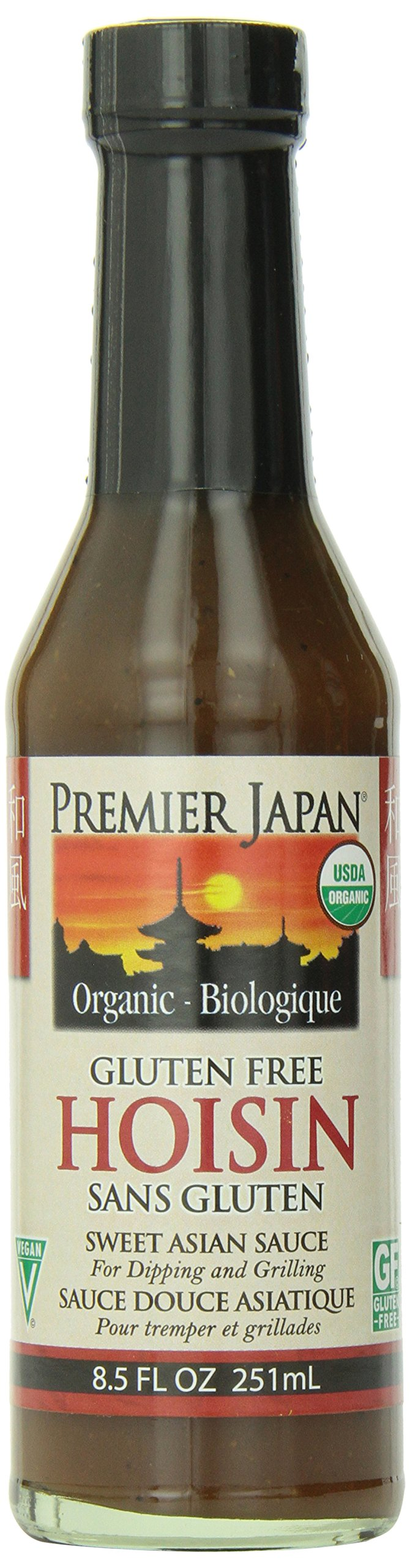 Premier Japan Organic Wheat Free Sauce Hoisin, 8.5 Ounce