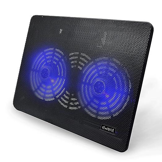663 opinioni per Ewent EW1256 Supporto con Sistema di Raffreddamento per Notebook, MacBook 12 /