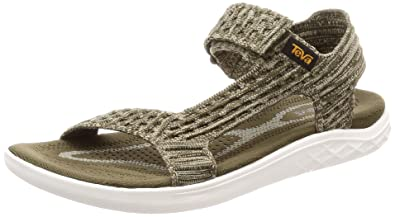 90781d28e0555c Teva TerraFloat 2 Knit Universal Sandal Womens Hiking 10 Dark Olive