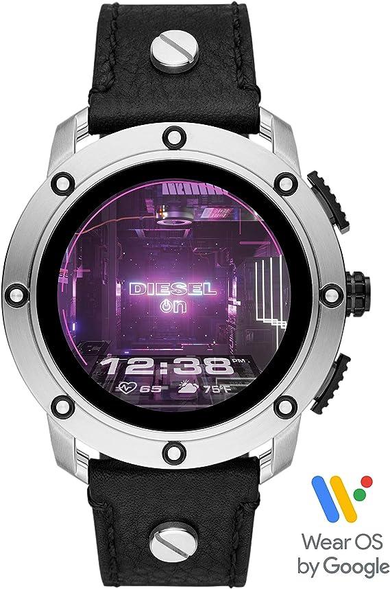 Amazon.com: Diesel On Reloj Inteligente Axial para Hombres ...