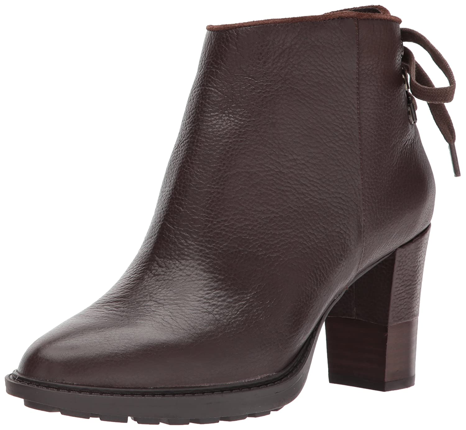 Aerosoles Women's Fact Fiction Ankle Boot B06Y636S7S 7 B(M) US|Dark Brown Leather