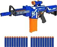 Best Choice Products Kids Foam Dart Blaster w/ Load Cartridge, Sights, 20 Darts, Multicolor