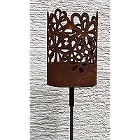 Feuerkorb bronze Corten XL Fire Basket ✔ rund ✔ rostig (Edelrost)