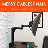 ECHOGEAR Single Monitor Desk Stand for Ultra-Wide