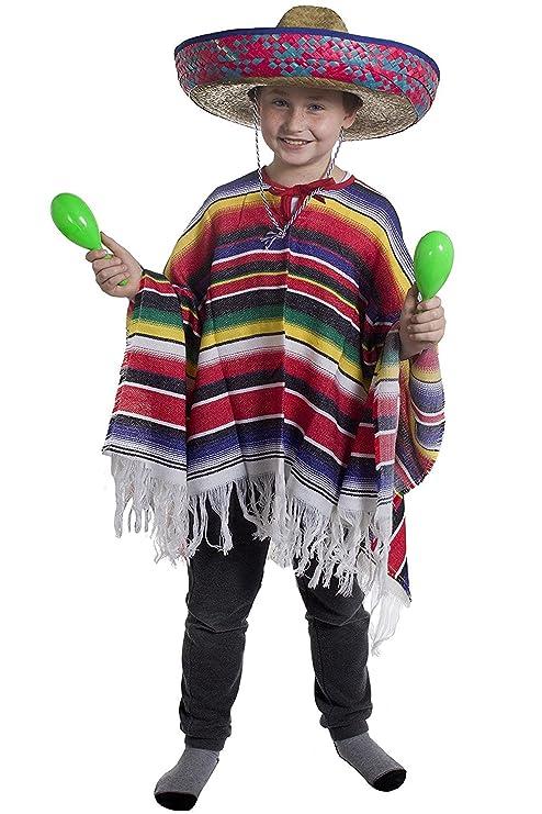 Costume da messicano per bambini 048e8c86aa7b