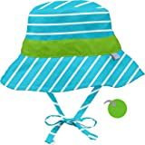 i play. Bucket Sun Protection Hat | All-Day Sun Protection for Baby's Head, Neck, Eyes | Adjustable Size, UPF 50+ Protection, Quick-Dry, Comfortable Wicking Liner