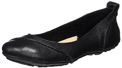 4291027f52cc0 Hush Puppies Women's Janessa Closed Toe Ballet Flats, Black, 3 UK 36 EU