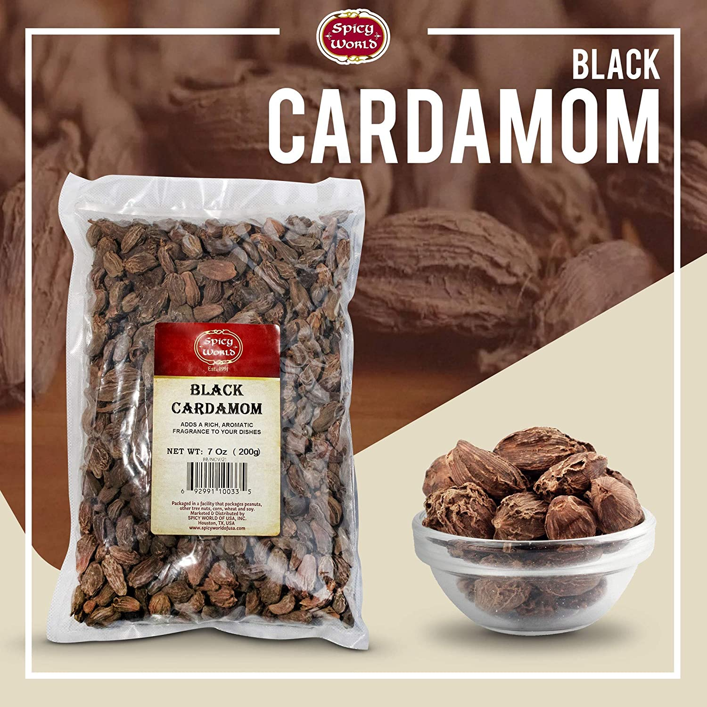 Black Cardamom (Black Elcha) 7oz