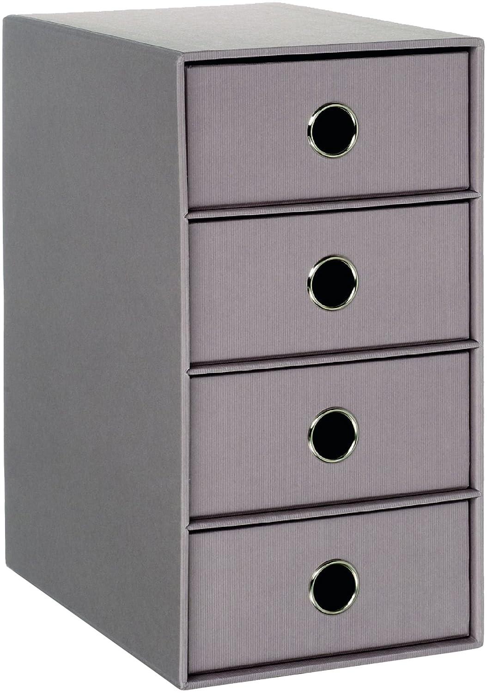 Rössler 1524452494 - Armario archivador, 4 cajones, color gris