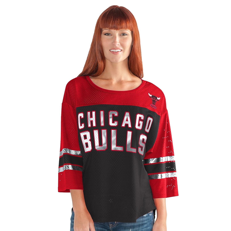 最初チームメッシュトップ B009RKPI9M Medium|ブラック/レッド|Chicago Bulls ブラック/レッド Medium