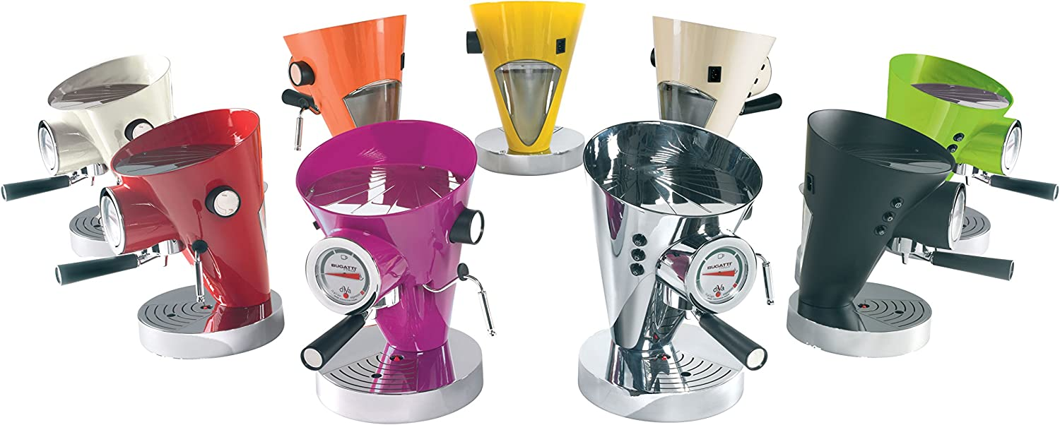 Bugatti DIVA - Espresso Machine Lilla: Amazon.es: Hogar