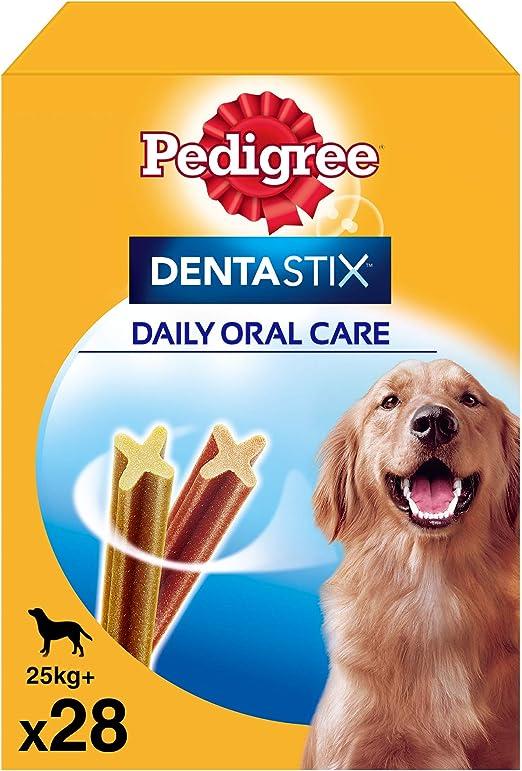 Pack de 28 Dentastix de uso diario para la limpieza dental de ...