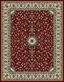Large Rugs for Living Room Red Traditional Area