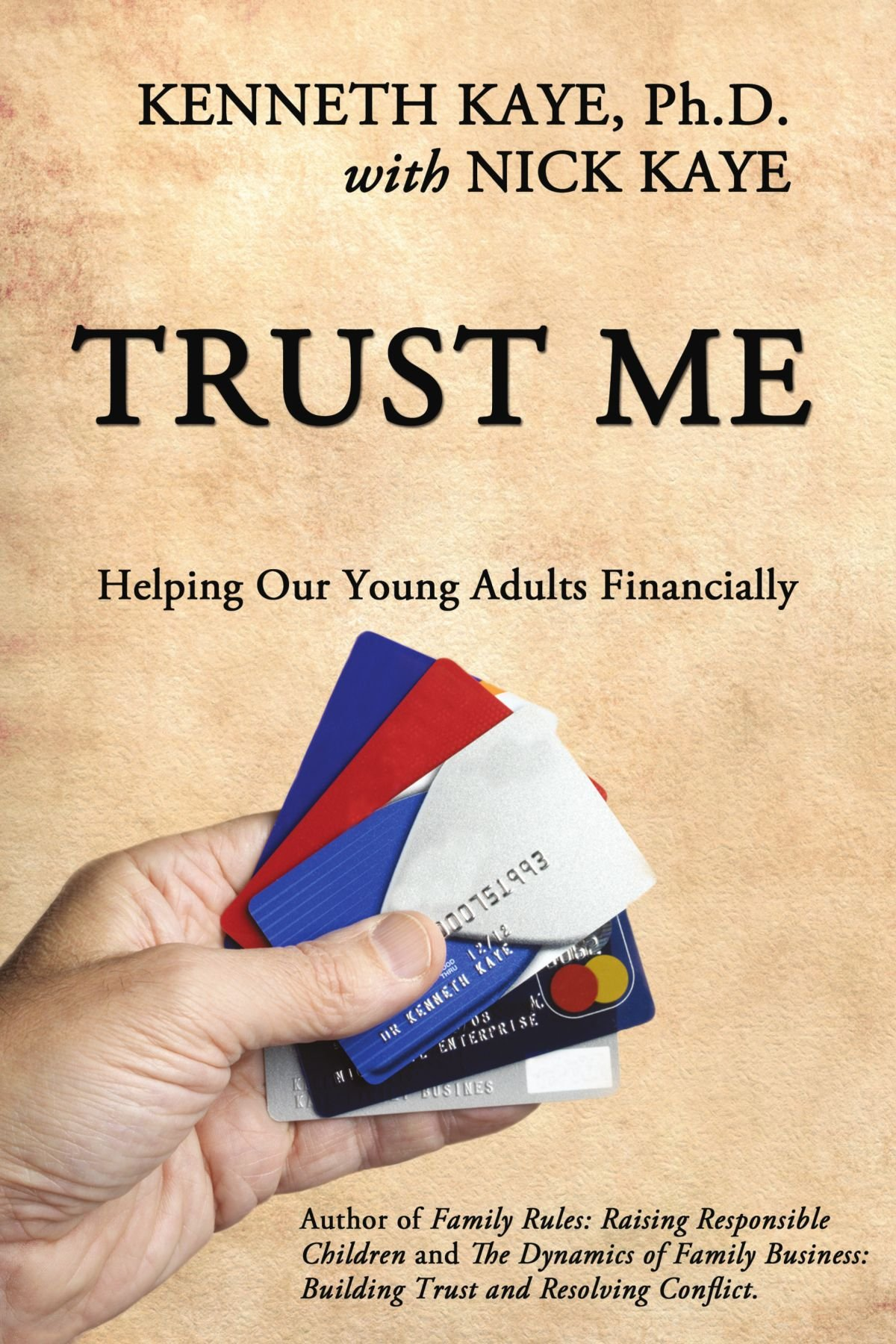 Read Online Trust Me: Helping Our Young Adults Financially PDF