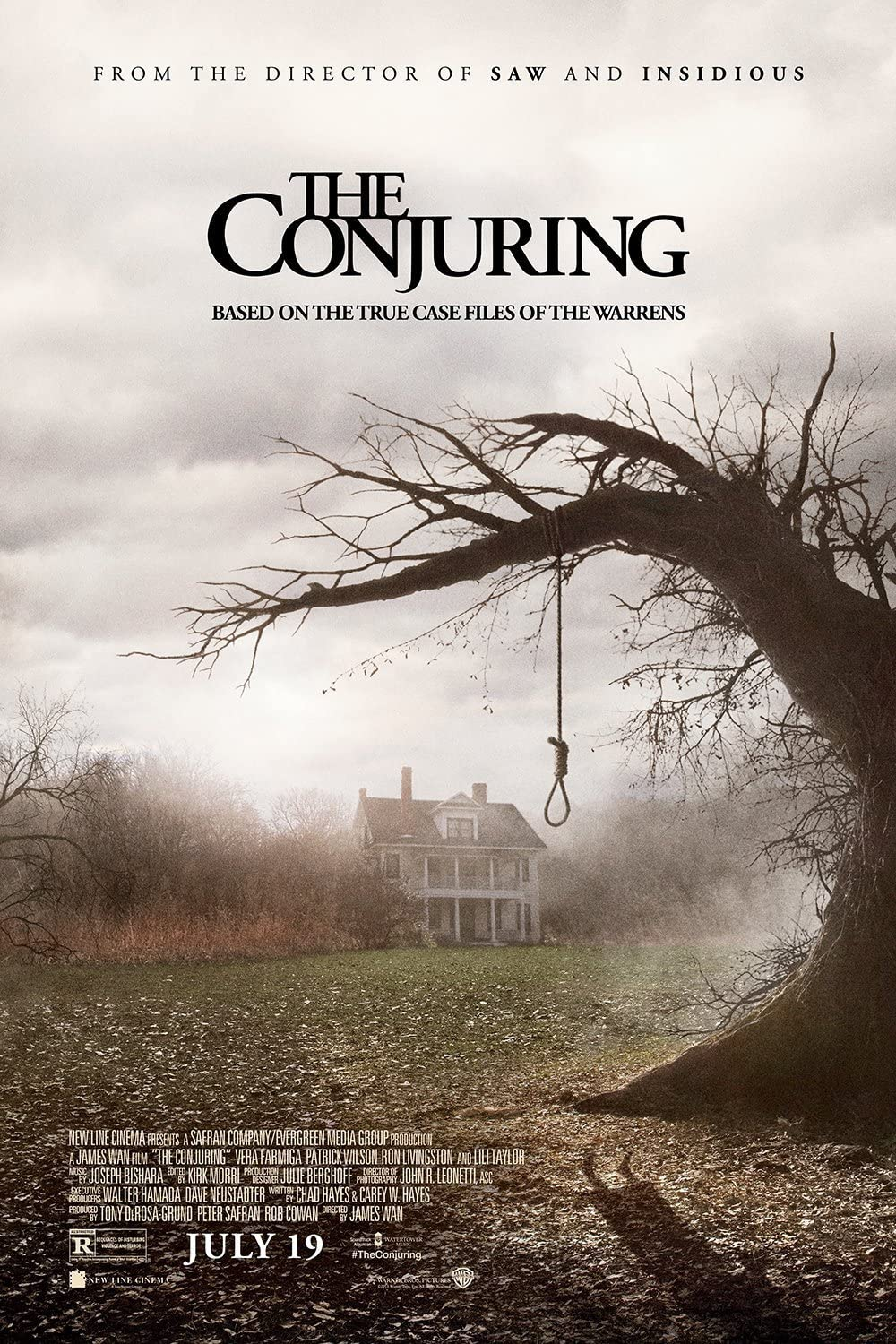 Amazon.com: The Conjuring Movie Poster 24x36 inches Vera Farmiga Patrick  Wilson Gloss Poster Print 106: Posters & Prints