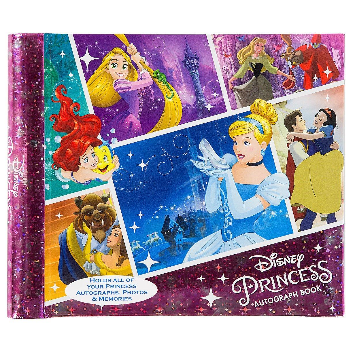 Disney Theme Parks Deluxe Princess Autograph Book Dream Big 4x6 Photo Album by Disney Parks