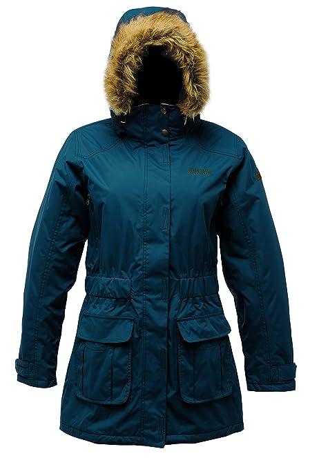 Regatta Women's Foxtail Parka Jacket: Amazon.co.uk: Sports & Outdoors