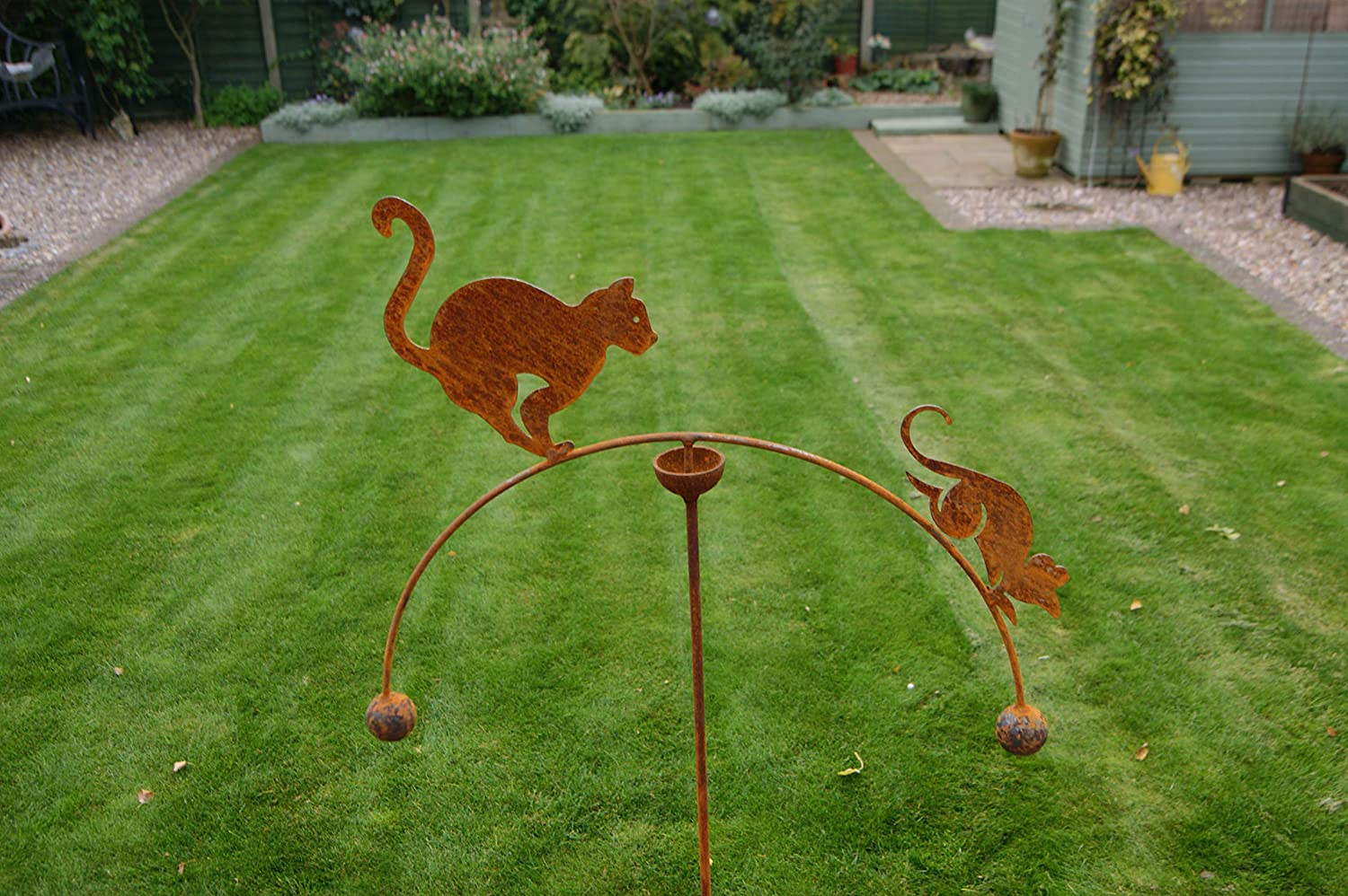 GAP Garden Products double ball Cat and Mouse wind rocker