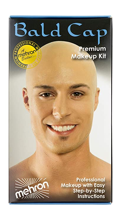 how to make someone look bald