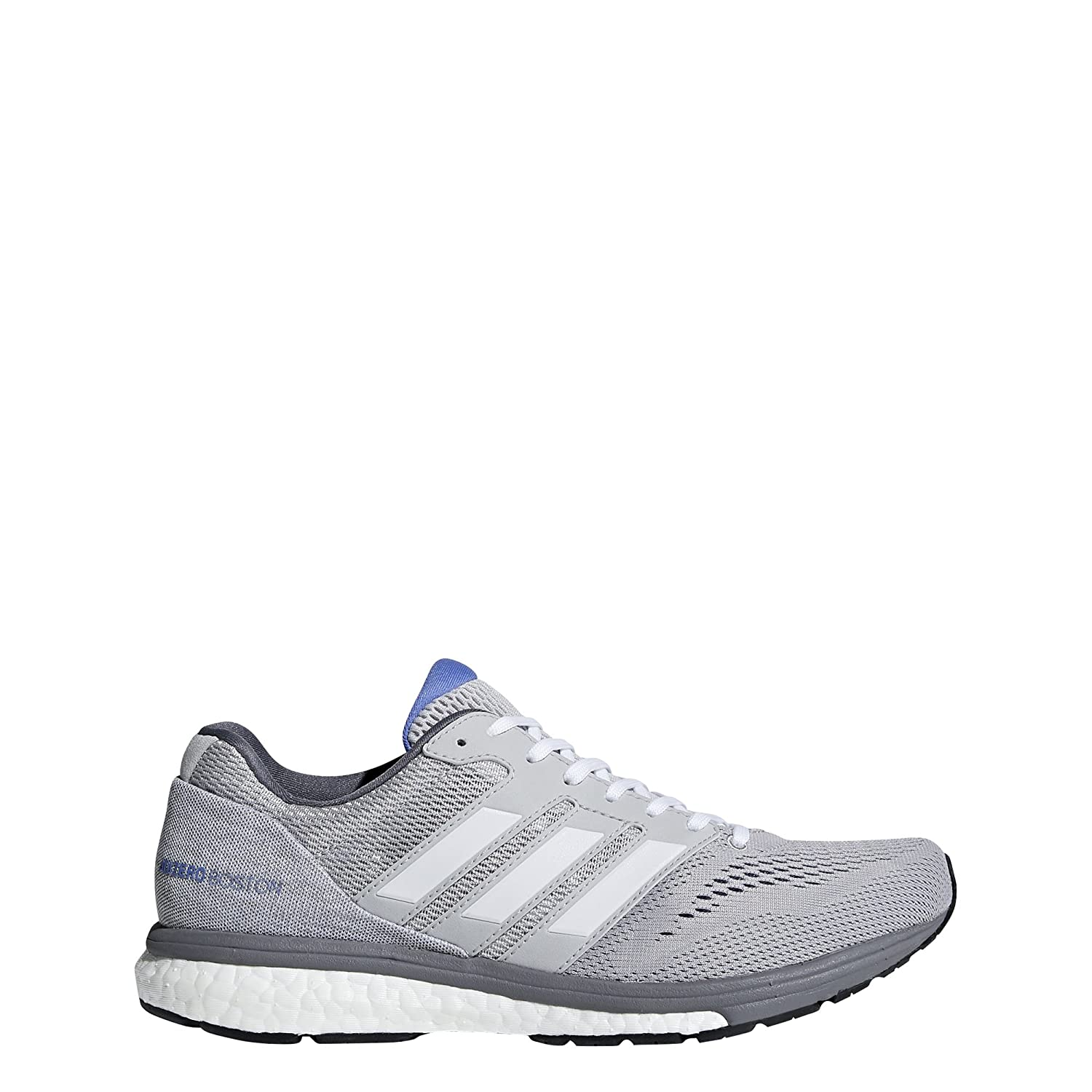 adidas Women's Adizero Boston 7 Running Shoe B077XKPQ9N 7.5 M US|Grey/White/Grey
