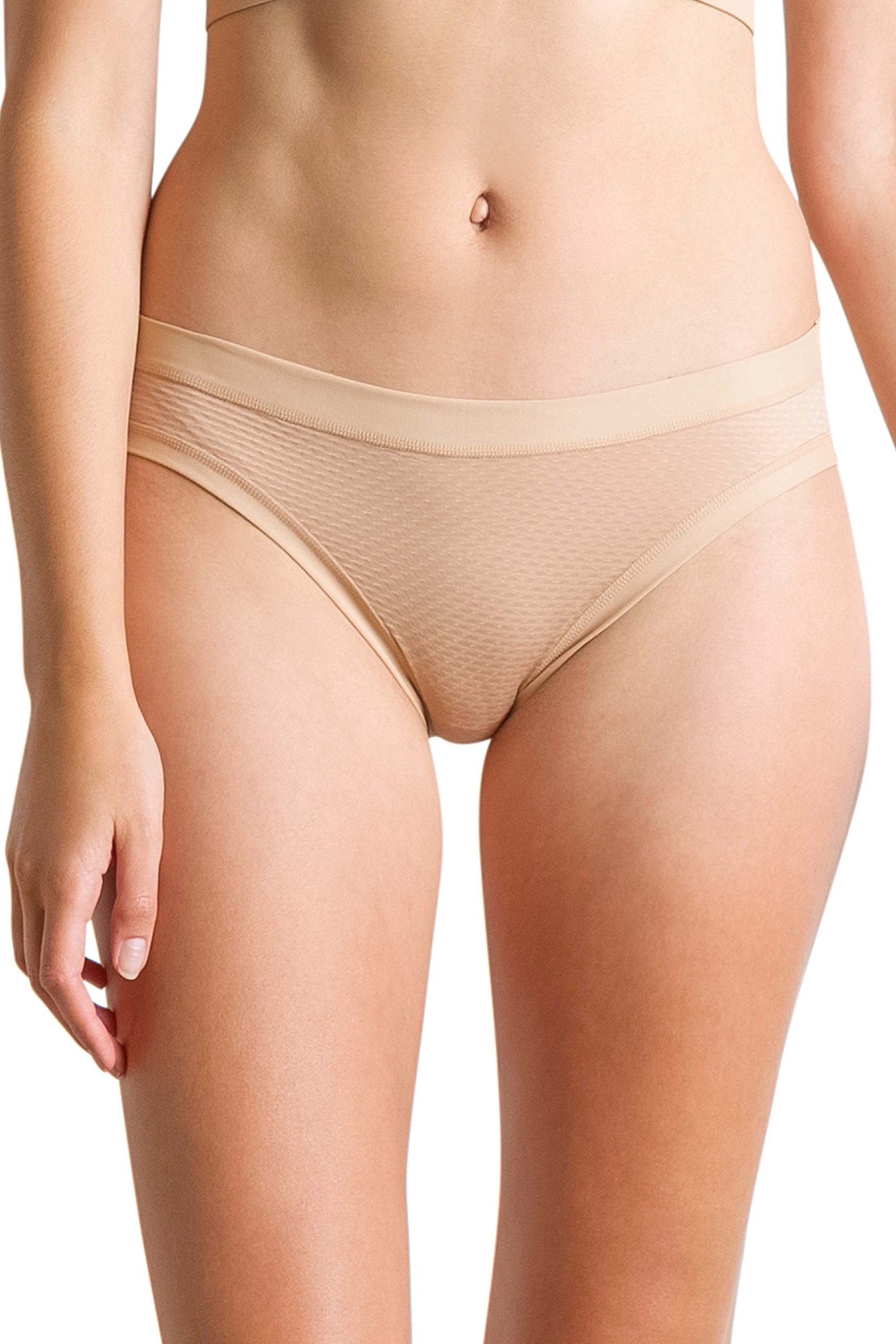 ExOfficio Women's Give-N-Go Sport Mesh Bikini Brief, Buff, Small