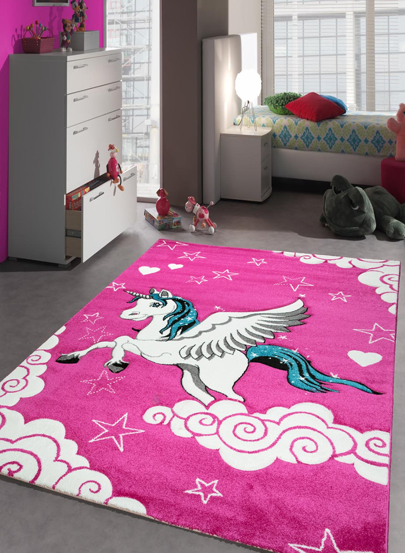 Un Amor De Alfombra 30069 Kids Unicornio Alfombra Para Dormitorio  ~ Alfombras Para Dormitorios Juveniles