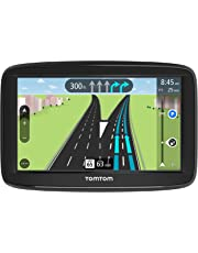 TomTom VIA 1625M 6-Inch GPS Navigation Device with Free Lifetime Maps of North America, Advanced Lane Guidance and Spoken Turn-By-Turn Directions