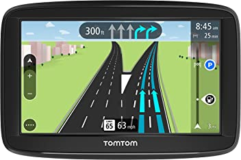 TomTom VIA 1625TM 6-Inch GPS Navigation Device with Free Lifetime Traffic & Maps of